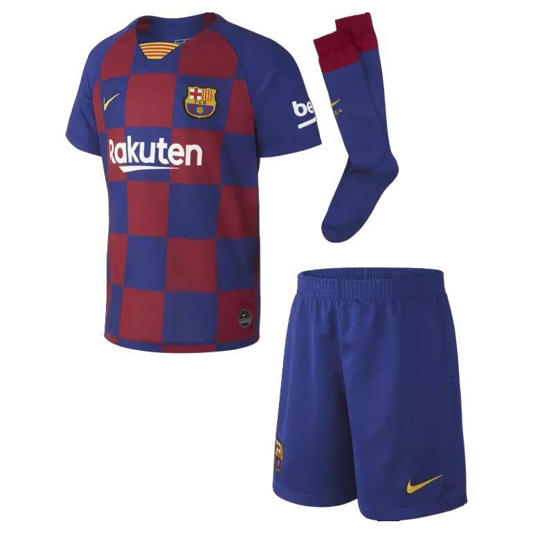 Maillot + Short FC Barcelone Domicile pour Enfant 2020 Foot freeshipping - Foot Online
