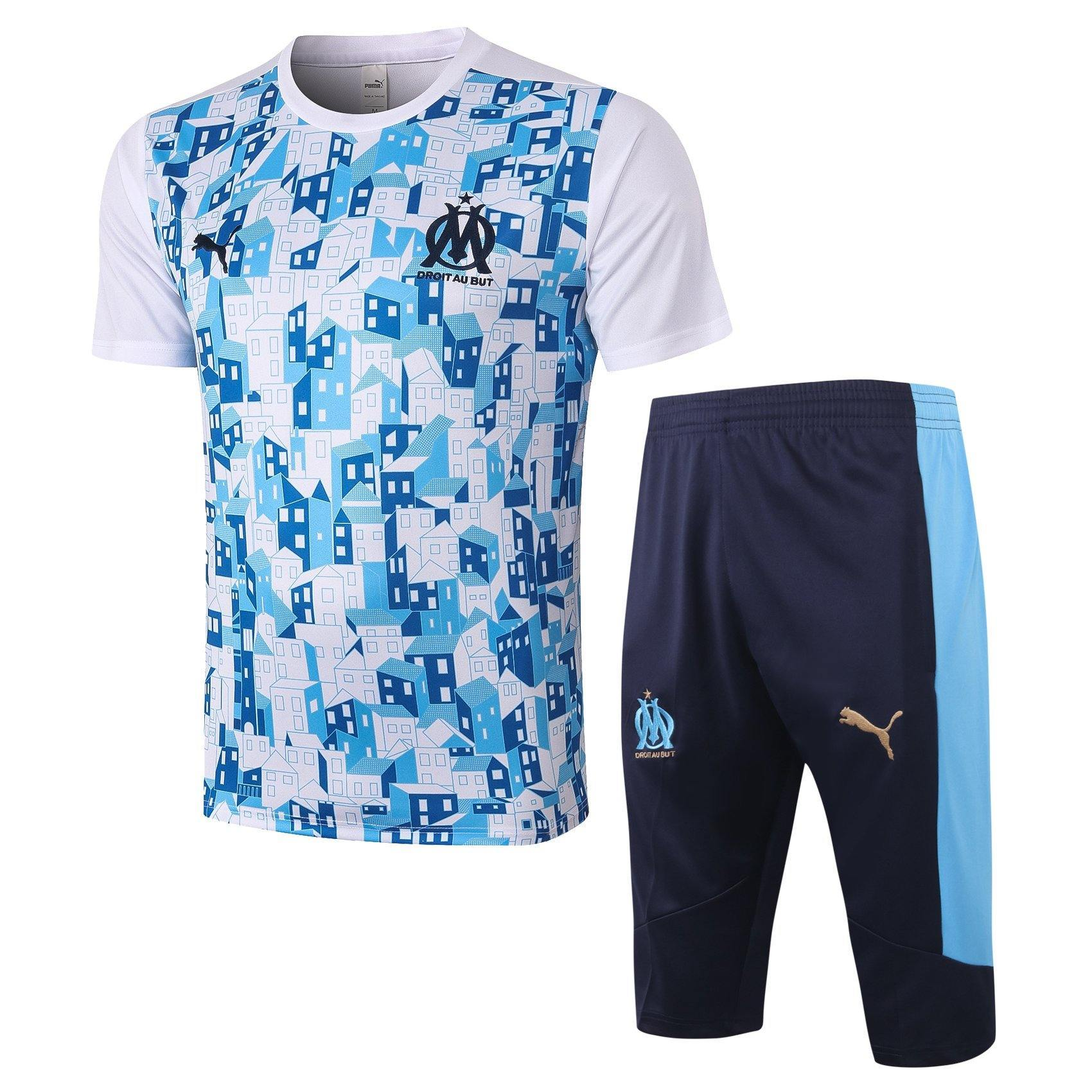 Maillot/Pantalon 3/4 Entrainement Marseille OM 2021 Homme freeshipping - Foot Online