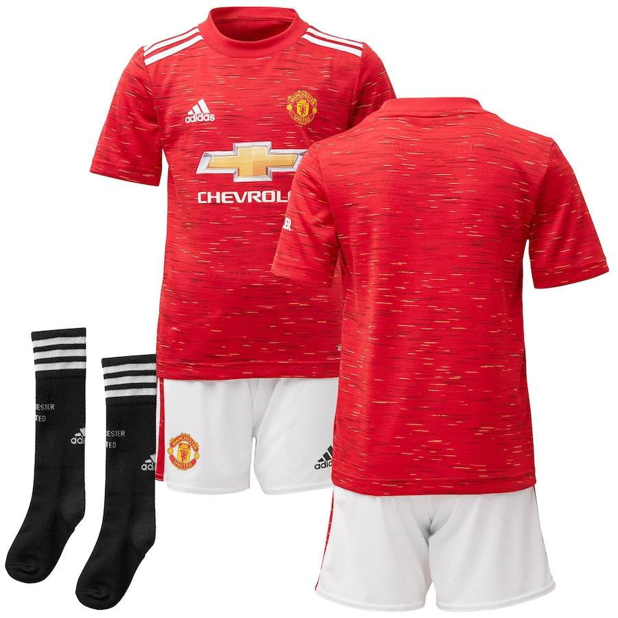 Maillot Kit Manchester United Home 2020 2021 - Enfant freeshipping - Foot Online