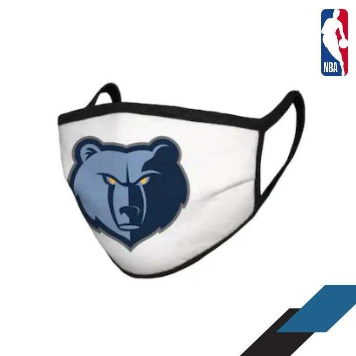 Masque Memphis Grizzlies NBA Basketball 2020 freeshipping - Foot Online