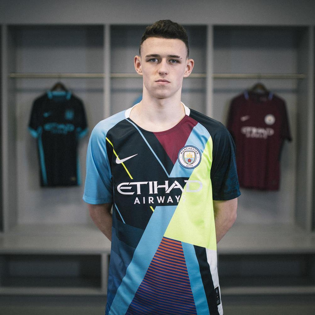 Manchester City x Nike Maillot de célébration (Limited Edition) pour Homme freeshipping - Foot Online