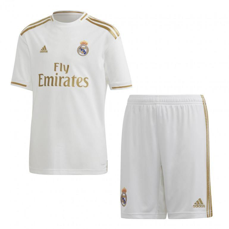 Maillot + Short Real Madrid Domicile 2020 Enfant Foot Adidas freeshipping - Foot Online