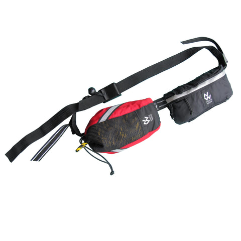 Quick Draw Deployment Belt shown with 1 Throw Line and 1 Gear Pouch
