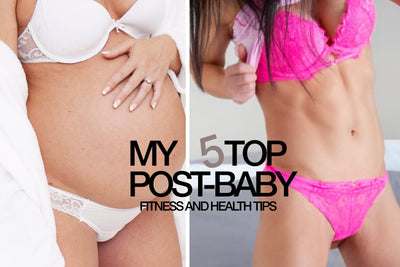 My 5 Top Post-Pregnancy Fitness and Health Tips⁣