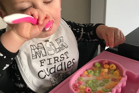 Weaning, Baby Led Weaning, Traditional Weaning, Baby Breakfast, Fruity Loops, BLW, Silicone Placemat, Gripdish, Grippo, Grip Dish, Baby Essentials, Baby Goods, Baby Store, South Africa
