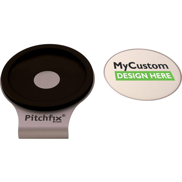 Black Pitchfix Hatclip