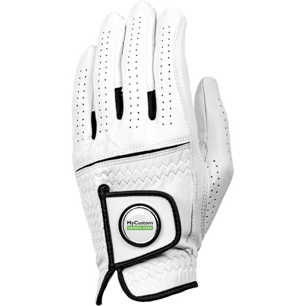 Cabretta Leather Golf Gloves Left hand -M/L 3-Pack