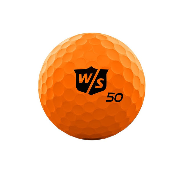 Wilson Staff 50 Elite Orange Golf Balls