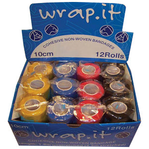 Wrap It Cohesive Bandage 10cm x 4.5cm