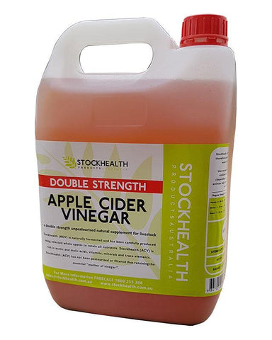 Stockhealth Apple Cider Vinegar 5L | equine-passion-minerals.
