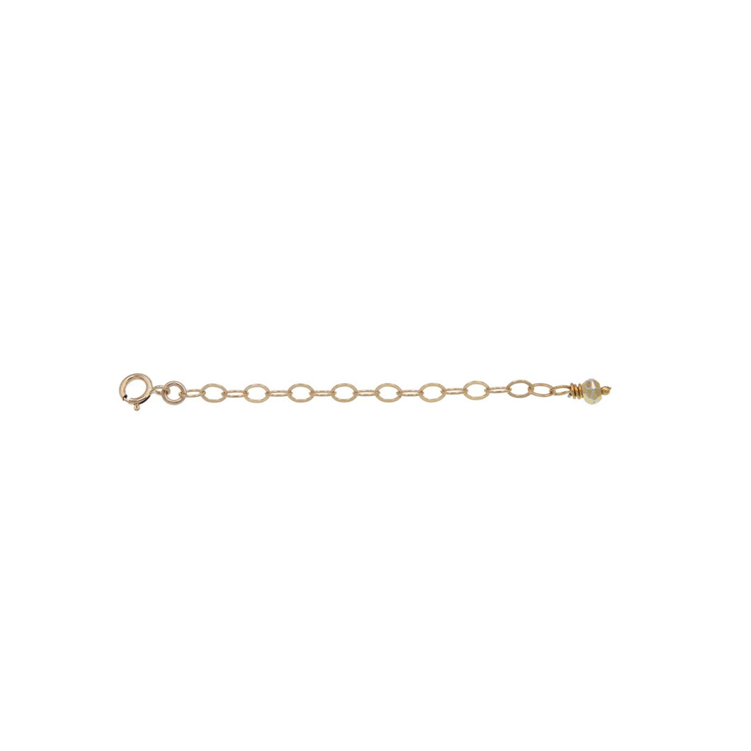 Zurina Ketola Handmade Jewelry Accessories. Gold-Filled Necklace Extender. 65mm / 2.5