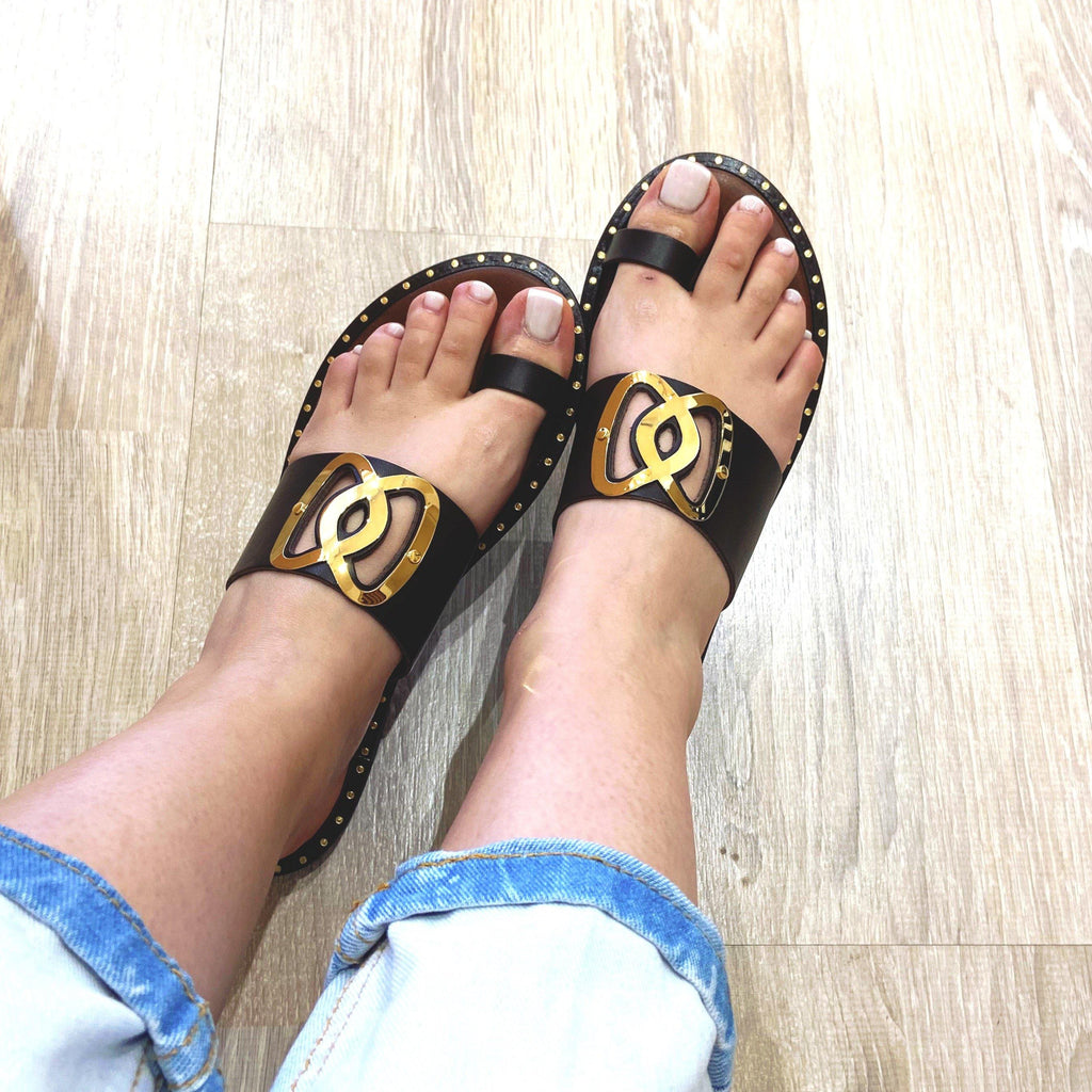 Greek Sandals - Suenos Boutique
