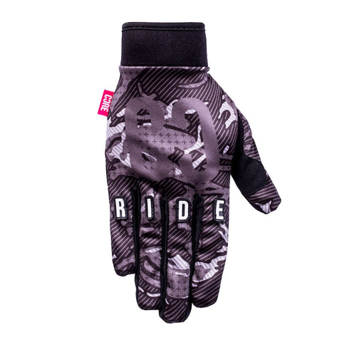 Core Protection Gloves Black Camo