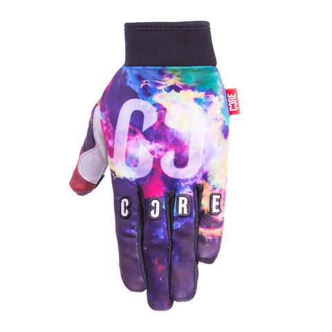 Core Protection Gloves Neon Galaxy