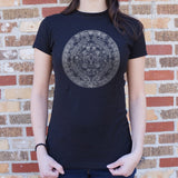Aztec Calendar T-Shirt (Ladies)