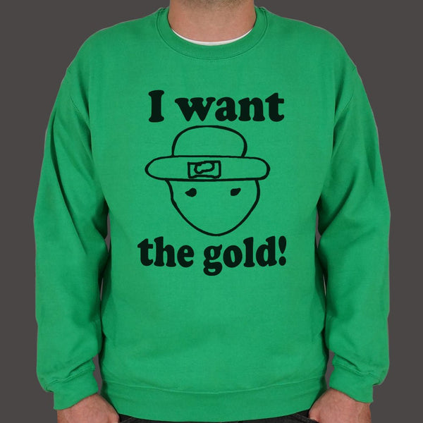 I Want The Gold Sweater (Mens)