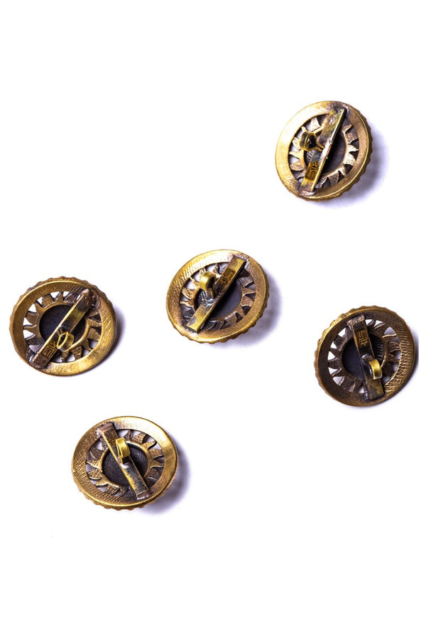The Sun Buttons (Set of 7)