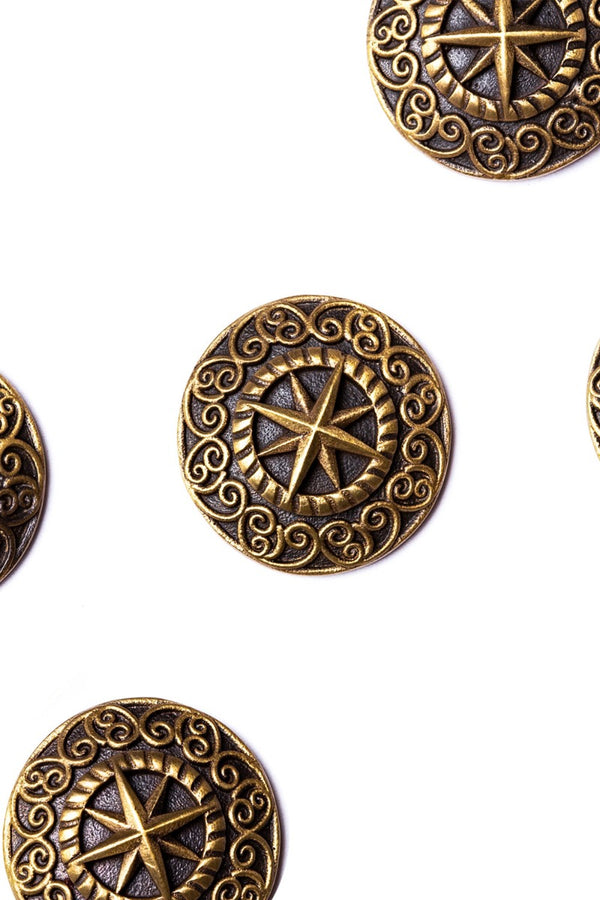 The Sun-Star Buttons (Set of 7)