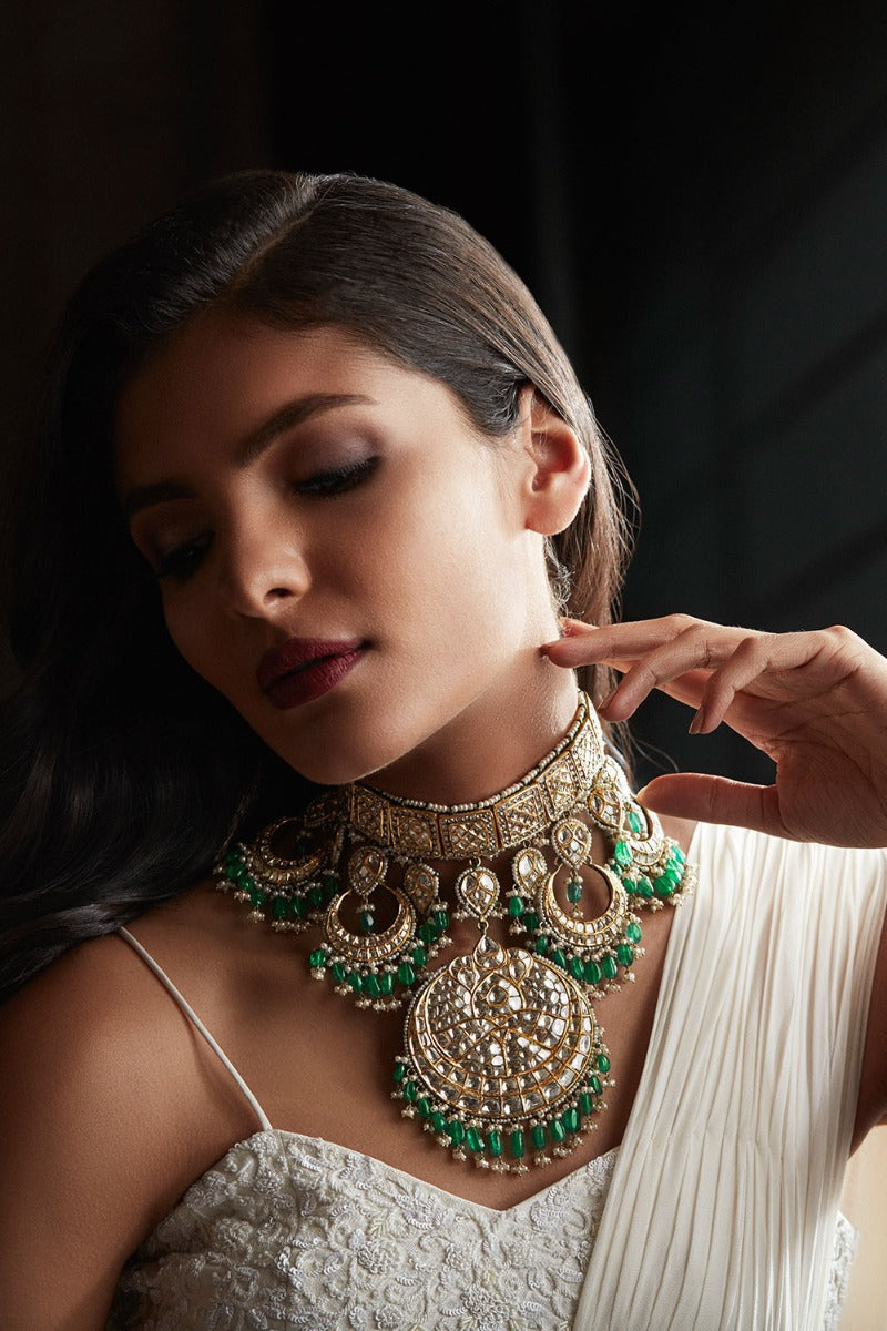 Khanna Jewellers Polki Necklace