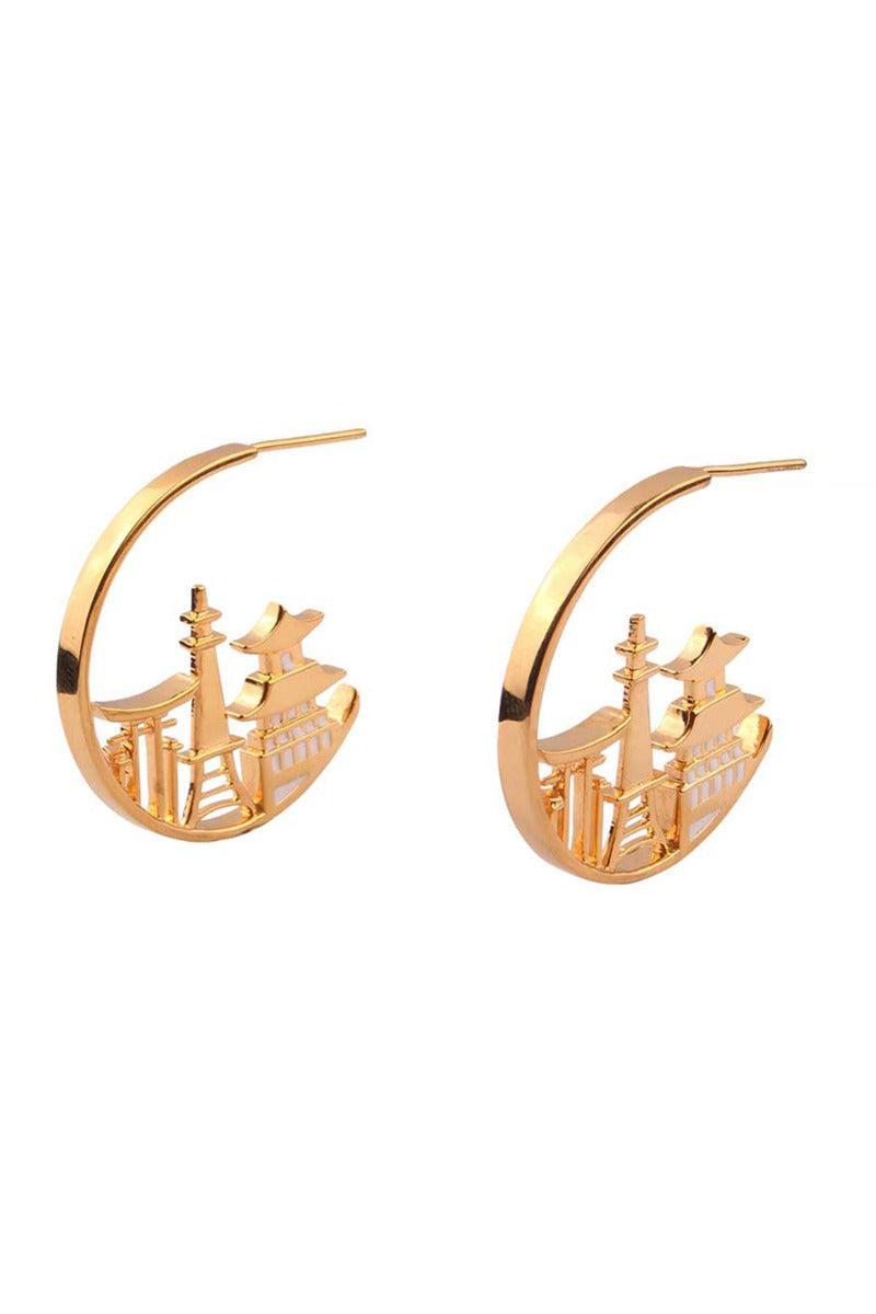 Globe Trotter JAPANESE LOOPS Earrings