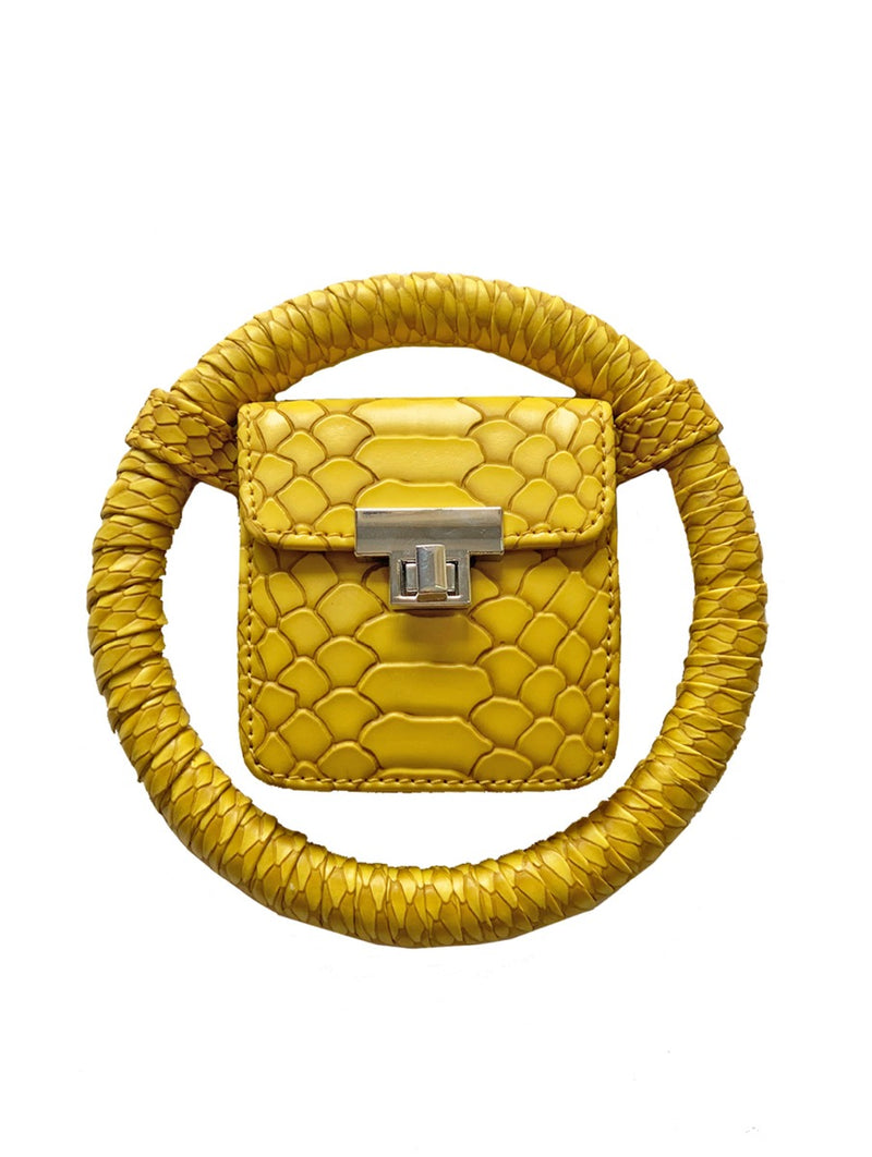 Yellow Spidey Bag