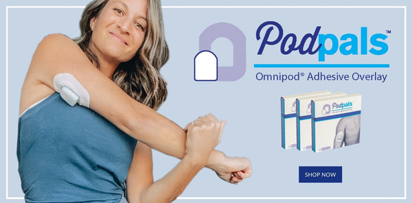 Podpals Omnipod Adhesive Overlays.  Shop now.