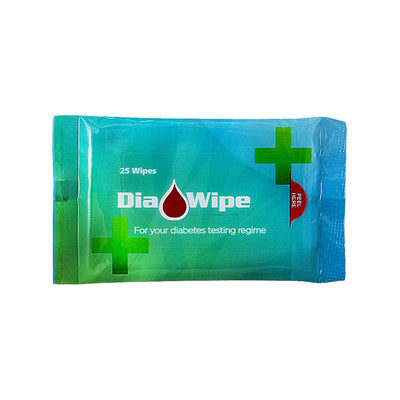 Dia-Wipe Diabetes finger testing wipes