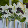 lily centerpieces