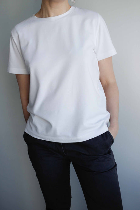 Classic Cotton T-shirt in White