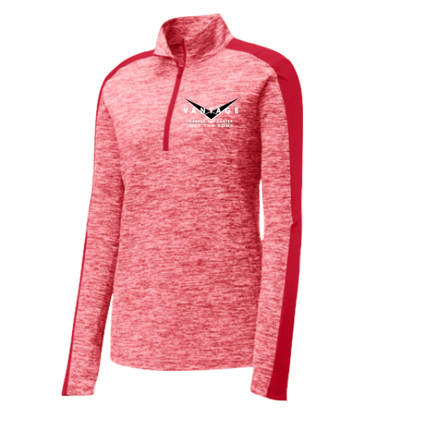 LADIES: Vantage Quarter Zip