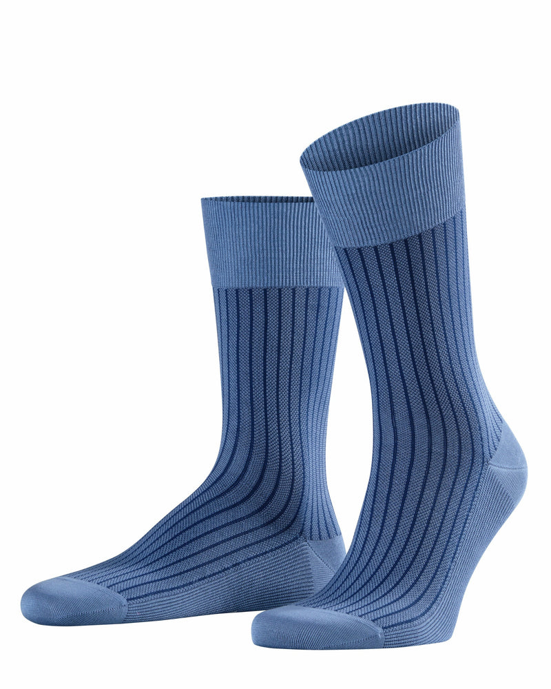 Oxford Stripe SO 13379 6845 dusty blue