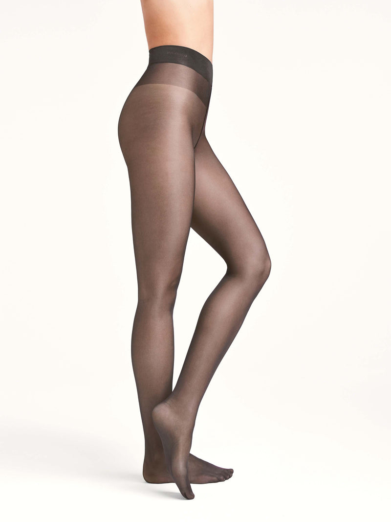Panty Satin Touch 20 denier met comfort boord 14776 7212 nearly black