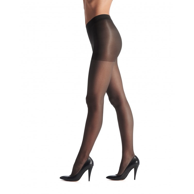 Vanite 15 tights 15 denier satin VOBC01125 zw zwart