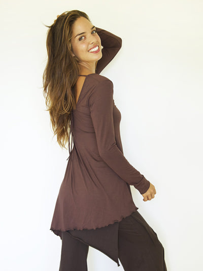 SHASTRI LONG SLEEVE TOP - New Design!
