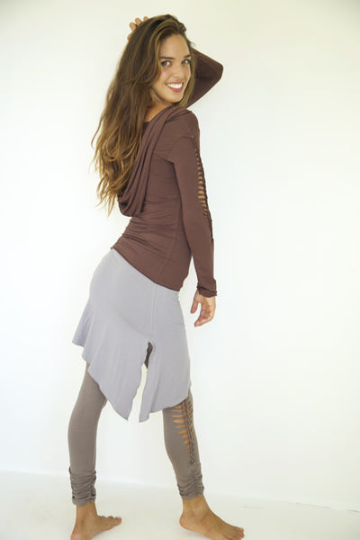 ASYMMETRICAL MINI SKIRT - New Design!