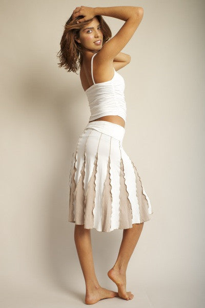STAR-DANCER SHORT SKIRT WITH CLOSED SIDES