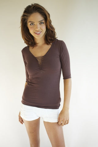 HOODY SHIRT WITH HALF SLEEVES - Discontinued Item!!! Clearance Sale!!! 40% OFF!!!