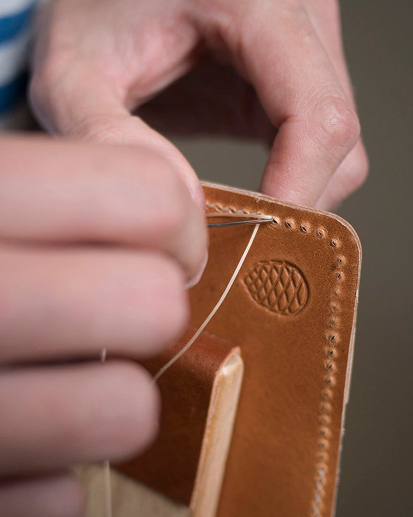 Wallet stitching two