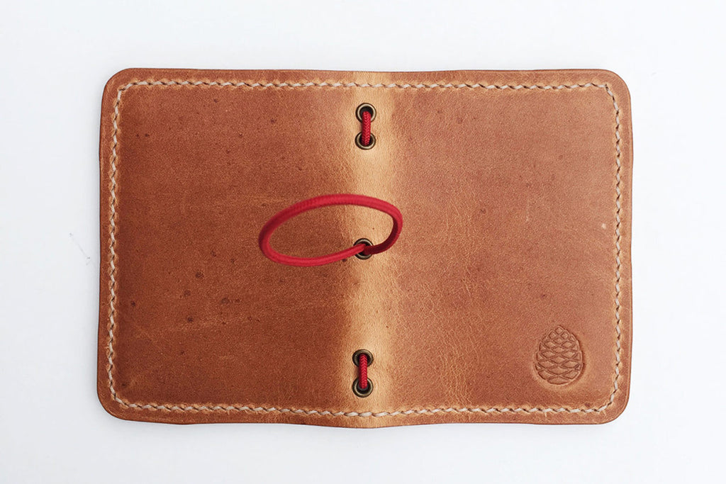 Finished wallet open