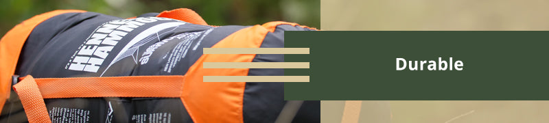 image of hammock packed