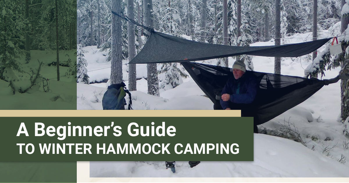 A Beginner's Guide to Winter Hammock Camping
