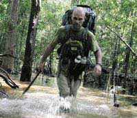 ed stafford jungle trekking