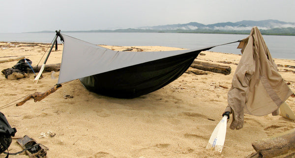 Photo courtesy of  Riding the Spine  : bivy hammock tent - memphite.com