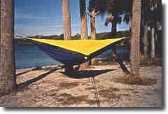 an early hennessy hammock model