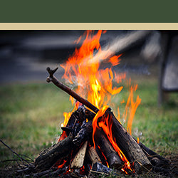 Image of a camp fire