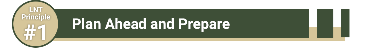 Plan Ahead and Prepare