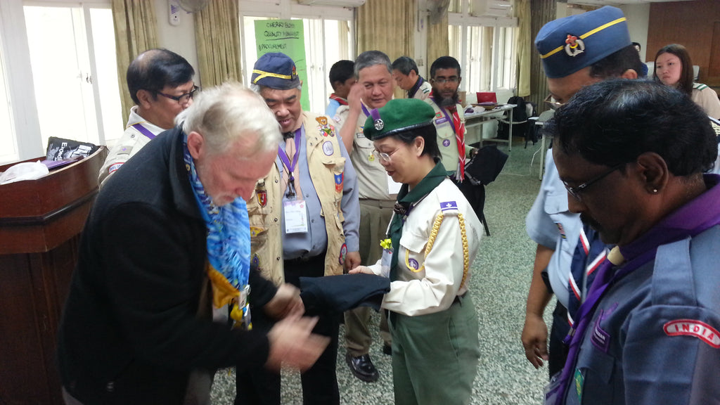tom meets scouts in taiwan