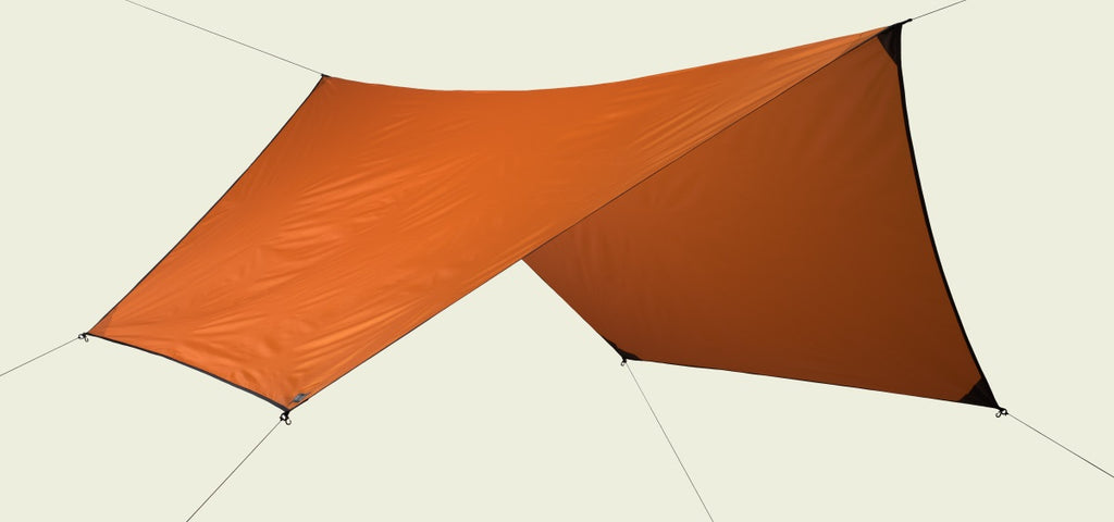 Burnt Orange Hex Symmetric Rainfly 70D Polyester P132B