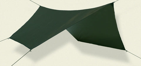 Hex Asym Rainfly 70D Poly - Forest Green