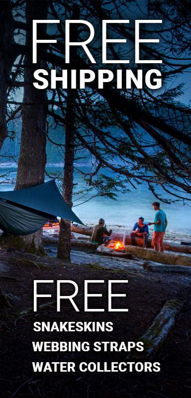 Cold Weather Camping Hennessy Hammock